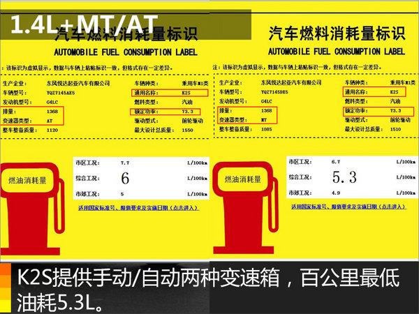 东风悦达起亚K2两厢版将上市 搭1.4L引擎-图2
