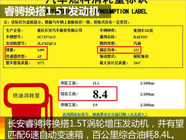 长安睿骋换搭1.5T发动机 动力性能超宝马-图2