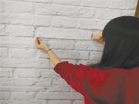 """20厘米""""砖""""竟长到50厘米?装饰电视墙没3D立体看着头晕"""