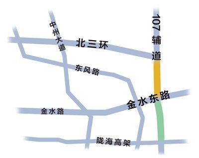 其中西四环,南四环,大河路将设置为连续高架形式,高架桥面均为双向八图片