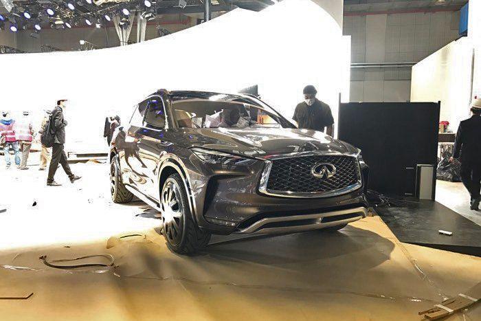 QX50概念车将亮相上海车展 将搭2.0T发动机