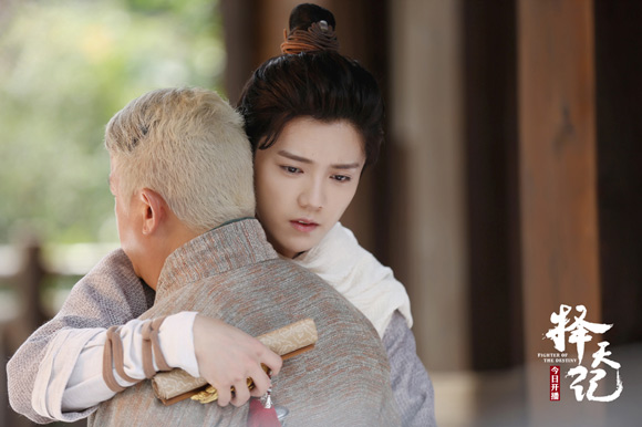 《择天记》今晚开播 鹿晗第一次拍电视剧就有感情戏