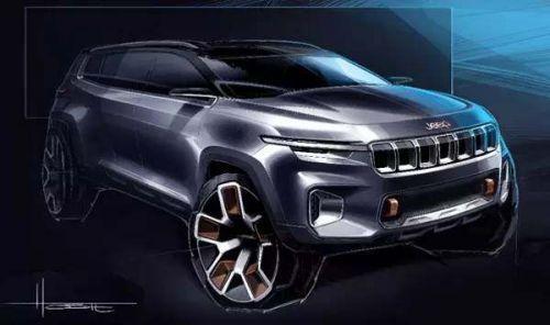 """从""""云图""""SUV概念车看Jeep产品的未来谋略"""