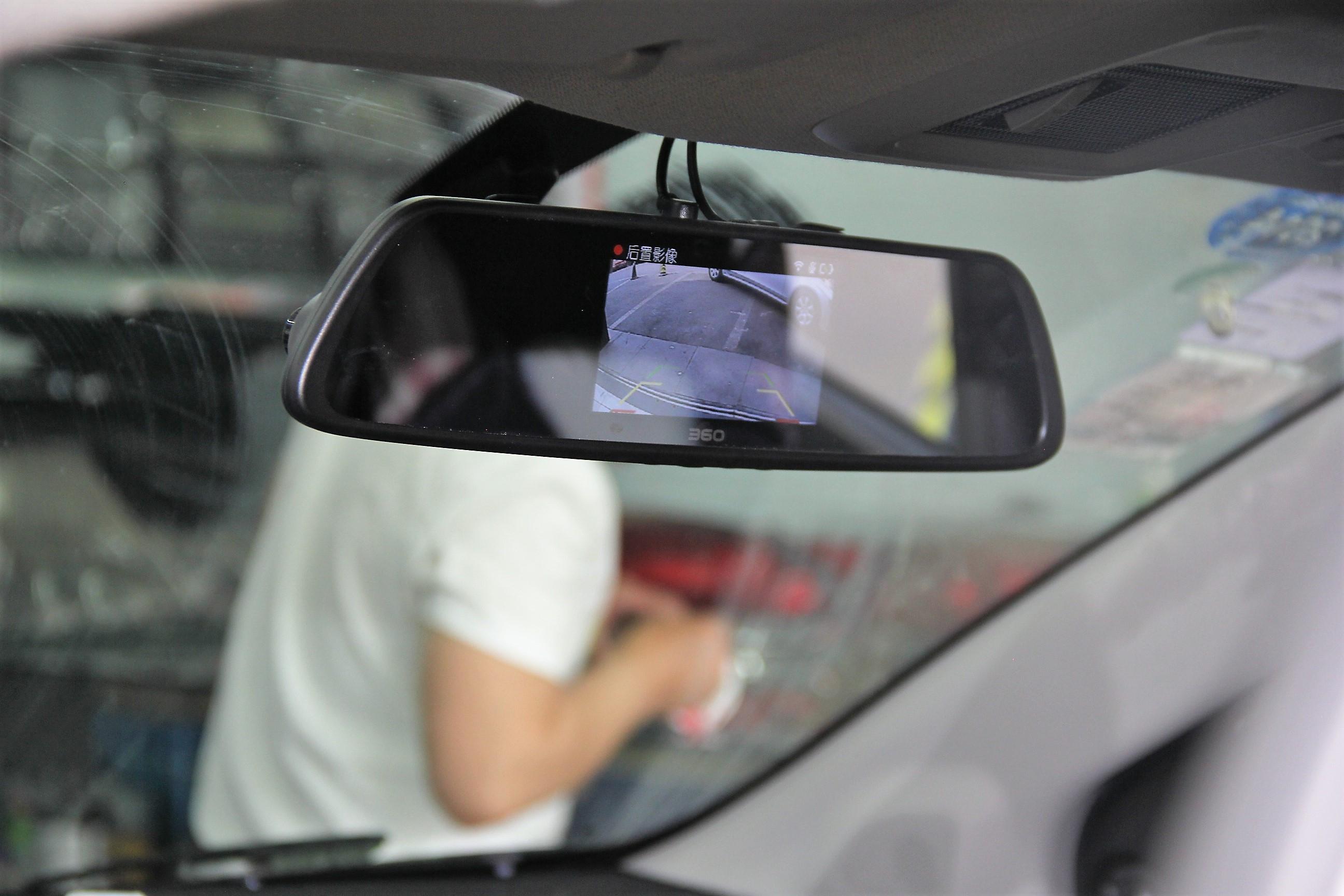 一机在手倒车无忧 360行车记录仪双镜头版体验