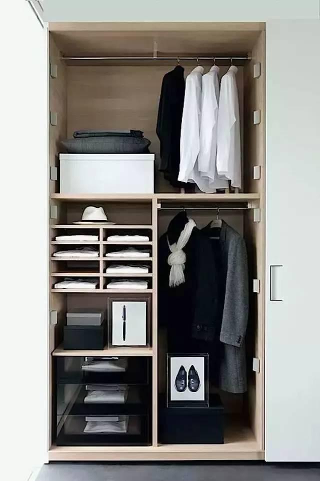 老木工推荐23个衣柜内部设计方案,留着肯定有用
