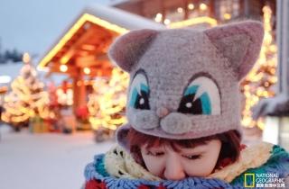 拍摄于圣诞老人的故乡——芬兰的罗瓦涅米-自拍摄影 她只想以此方