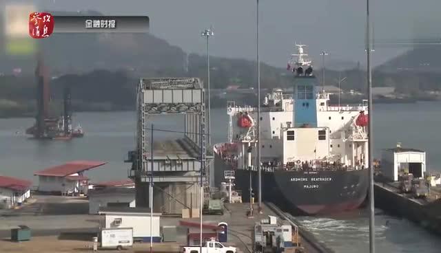 中国超级货轮停靠美国引惊呼:它占了一整条河(图) - 天在上头 - 我的信息博客