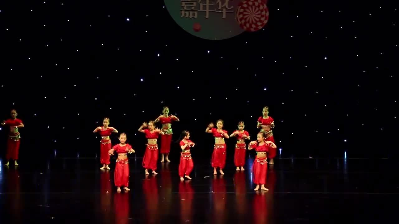 大眼睛舞蹈视频_少儿舞蹈印度舞《大眼睛》