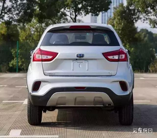 远景X1都还没推出,吉利又上一款全新小型SUV啦