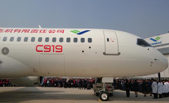 大飞机俱乐部添新成员 华夏时报(公众号:chinatimes)记者 王潇雨 北京