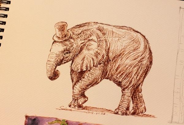 壁纸 大象 动物 600_409
