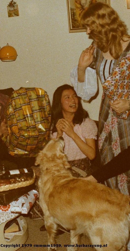1979 engagement welcoming Yolande