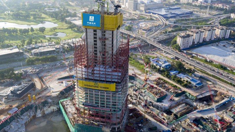 中国建筑海外市场已逾百个,承建世界一半超高层建筑