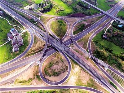 9日零点 沿江高速公路全线贯通 开车到万州忠县的路线可二选一