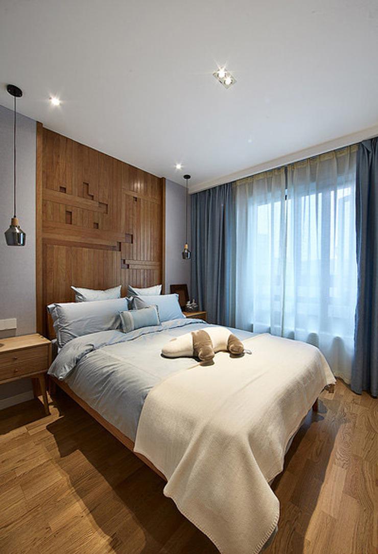 背景墙 房间 家居 酒店 设计 卧室 卧室装修 现代 装修 740_1084 竖版