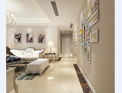 武汉保利公园九里100平米三居室简欧风格装修效果图——局部装饰图片