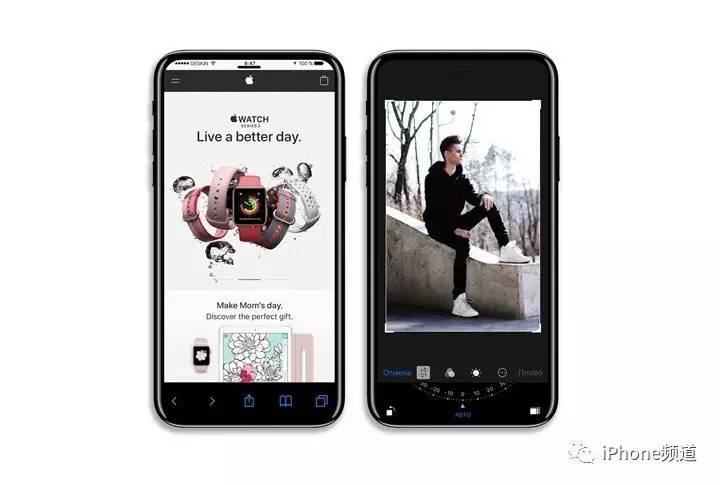 手绘iphone 8内部设计图:无线充电/全面
