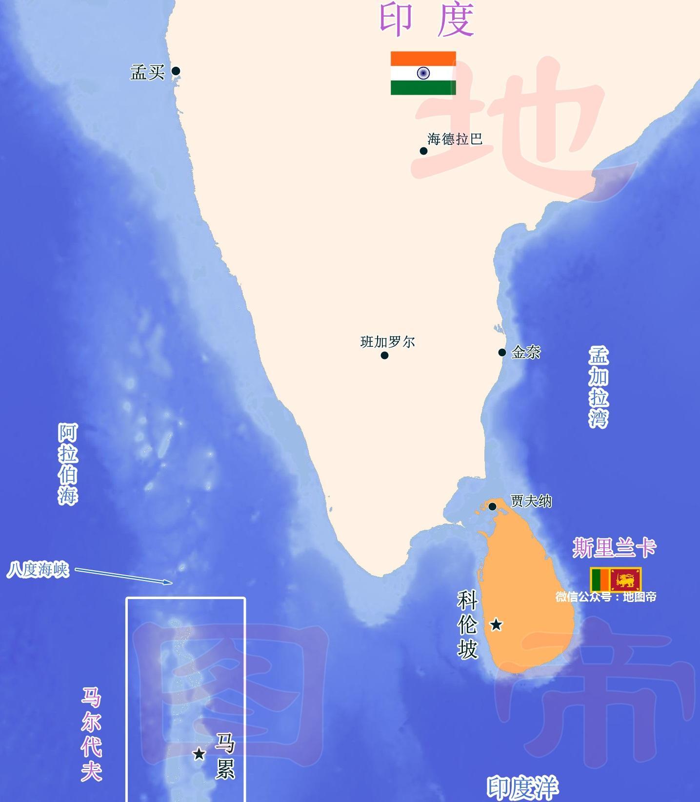 一带一路,一国地图像印度洋一滴眼泪,中国建港口
