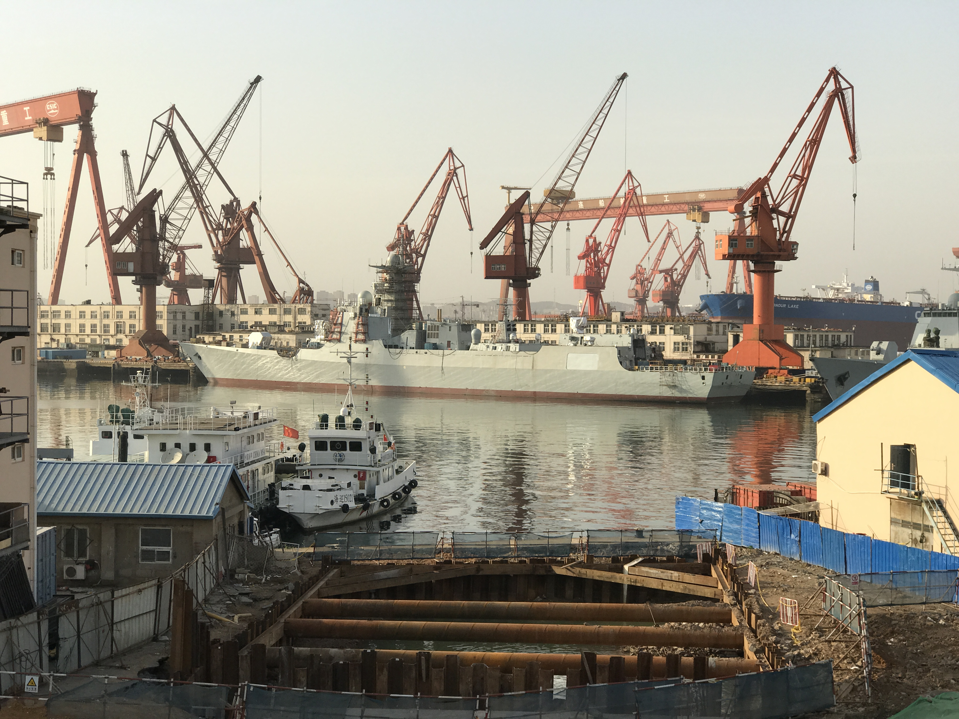 中国建造军舰速度不可思议 美国需要一个更强大的对手 - 点击图片进入下一页
