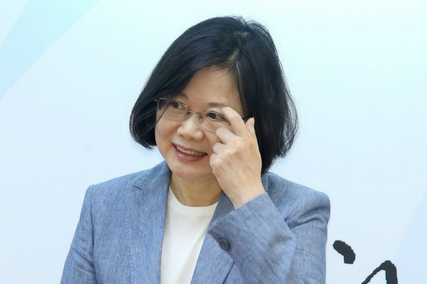 蔡英文放弃就职周年演讲 港媒曝光原因 (图)