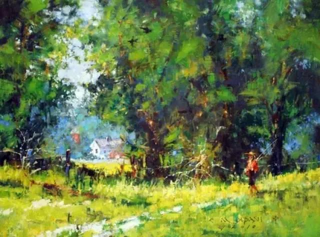 美国michael dudash风景油画作品欣赏