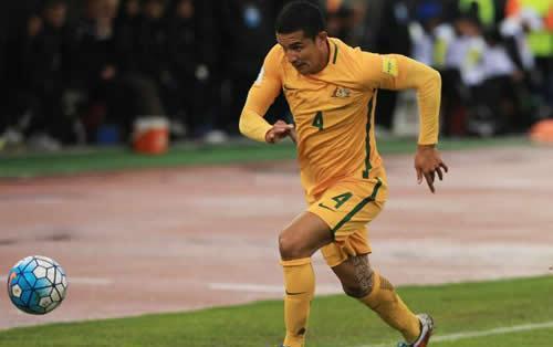 中超躺枪!卡希尔痛批澳洲足球:看看我们的国脚都在什么联赛踢球