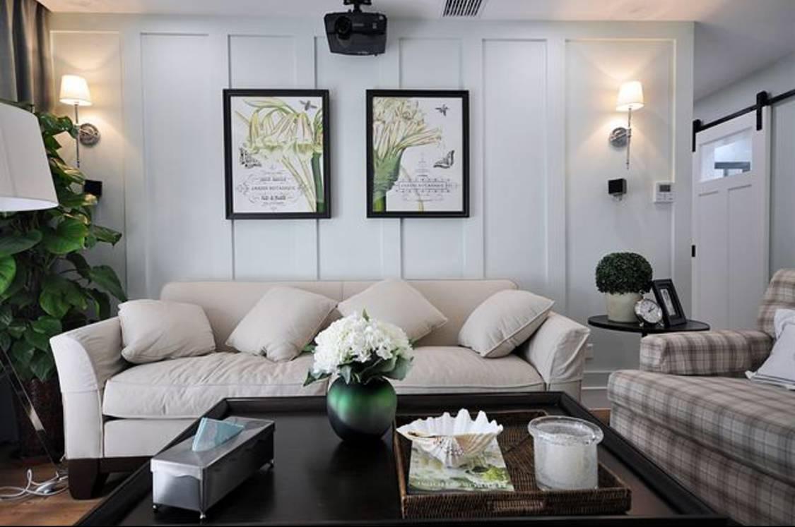 除了挂画,沙发墙还能怎么装?
