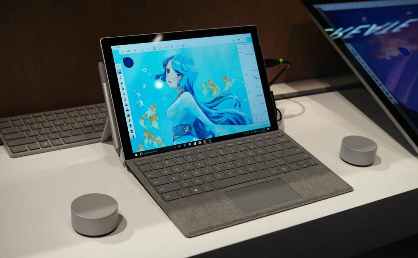 新款Surface Pro 5终于来了 还有Laptop和Studio
