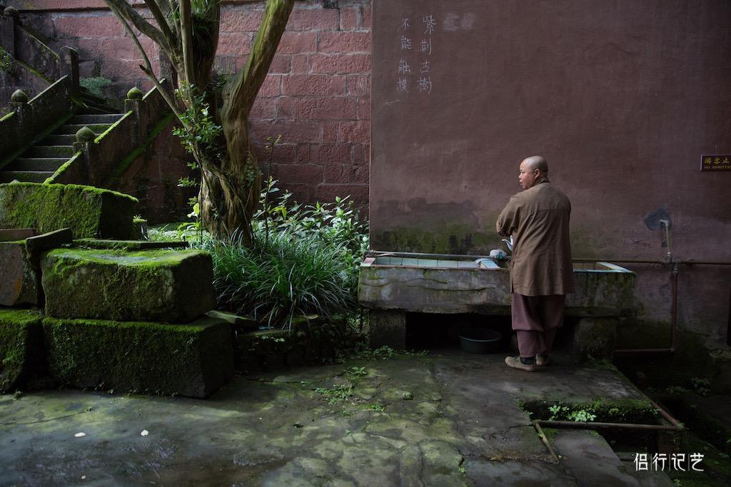 千年古寺的扫地僧因制茶意外走红