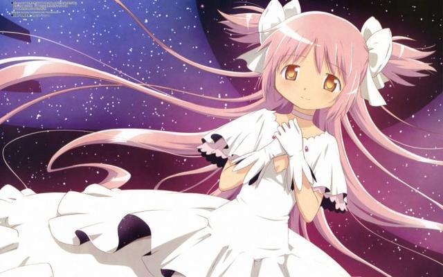 粉毛是王道 盘点动漫中的粉发美少女图片