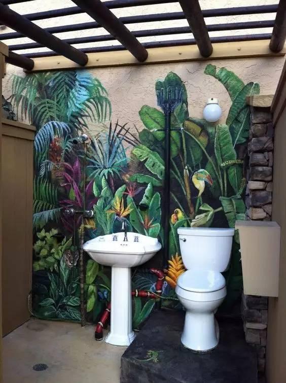 朋友,给家里画一面墙绘吧!