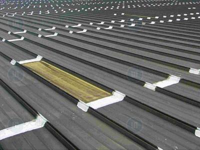 钢结构屋面防水彩板敷设工艺分析(工程施工指导!