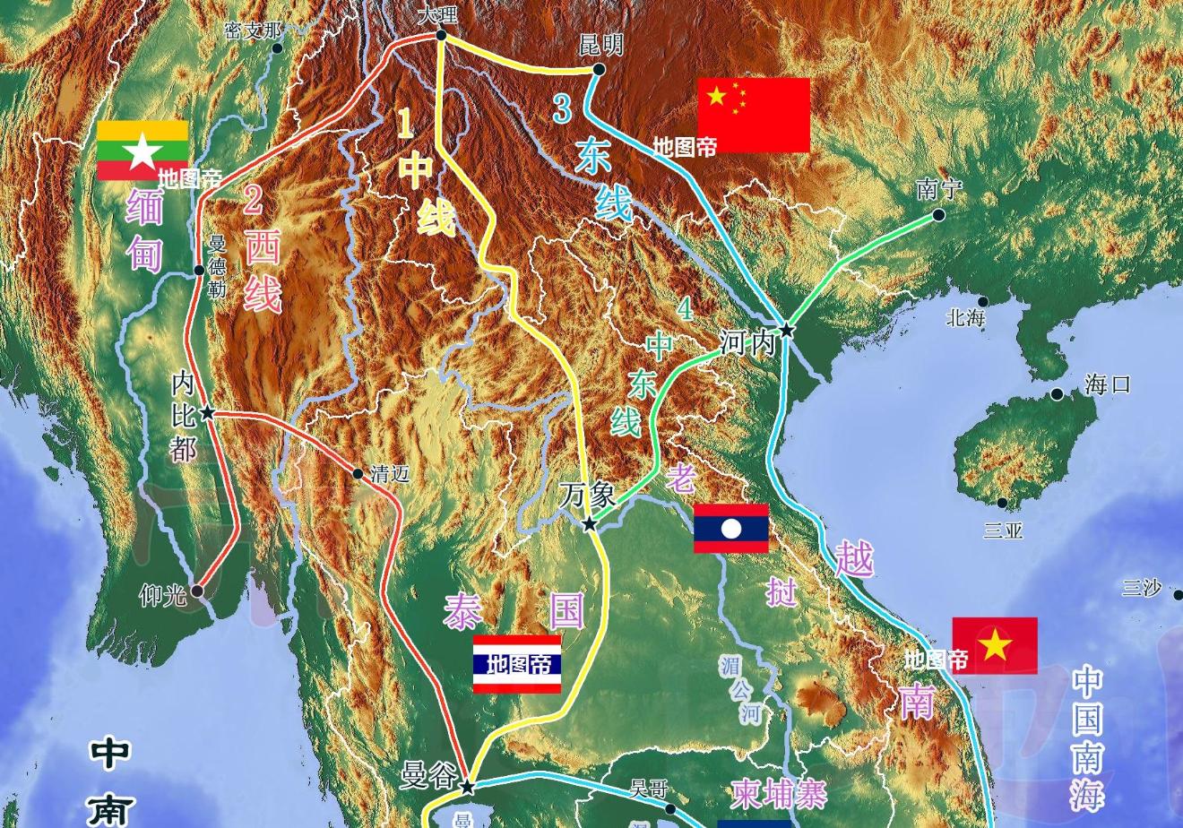 东南亚唯一没被殖民的国家,有望成中南半岛交通枢纽