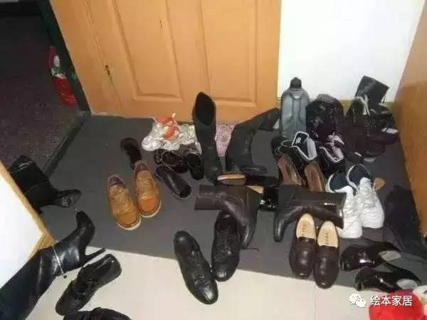 入户鞋子一团乱那是玄关柜没装好记得要这样装!