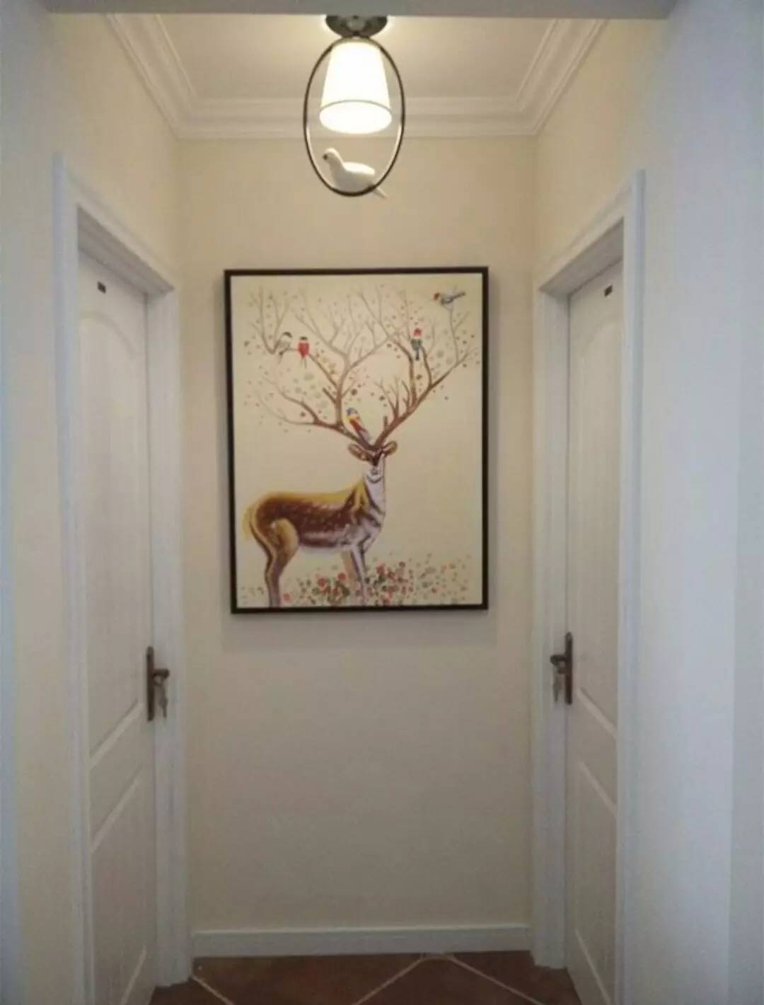 走廊尽头的那面墙,这样修真漂亮!图片