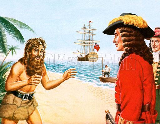 荒岛求生,贝爷德爷都得喊他师傅:苏格兰传奇水手开局