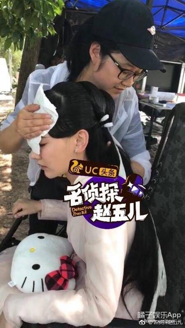 孙骁骁拍戏中暑晕倒,为什么反被网友酸?