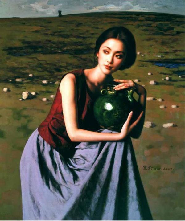 """谢楚余 - 被""""盗版与美女簇拥的画家"""""""