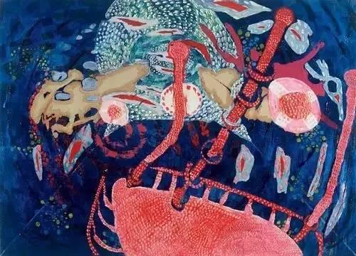 Beukers抽象油画作品欣赏