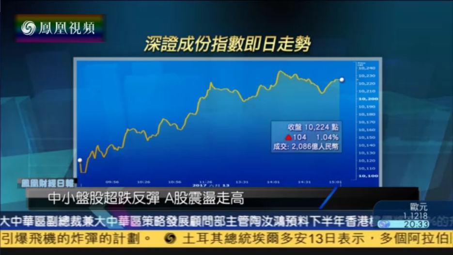 A股缩量收高 钱启敏:中小盘股短期行情为主