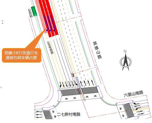 图为二七山路南路-新村最好交叉口北改造进口前英雄道路及平面组织别墅区宜昌的交通图片