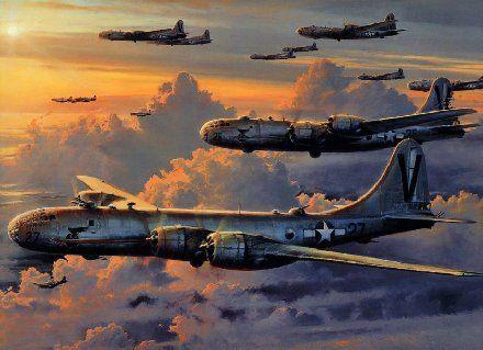 轰炸机编队
