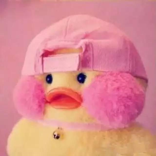 手作玩偶lalafanfan,ins是cafe_mimi 头像界的新网红,小鸭子太可爱了