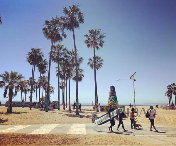 Venice Beach Ocean Front Walk