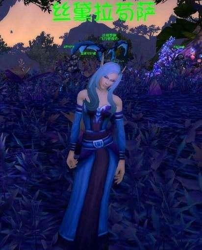 达拉然以北斯黛拉最美 聊聊玩家心中另一半的魔兽人物