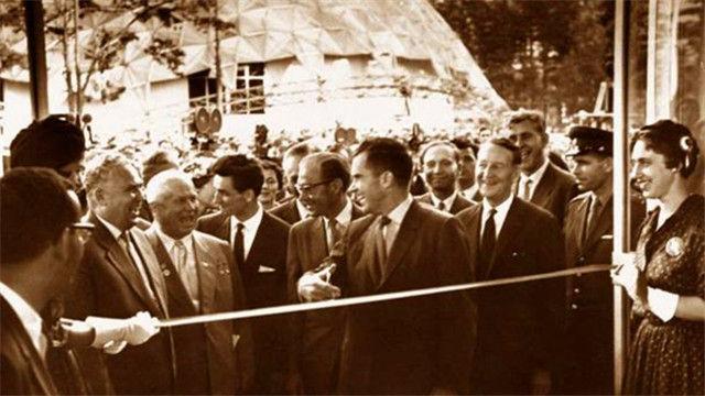 尼克松和赫鲁晓夫