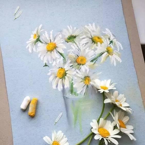 用粉笔竟然能画出这么震撼的画!
