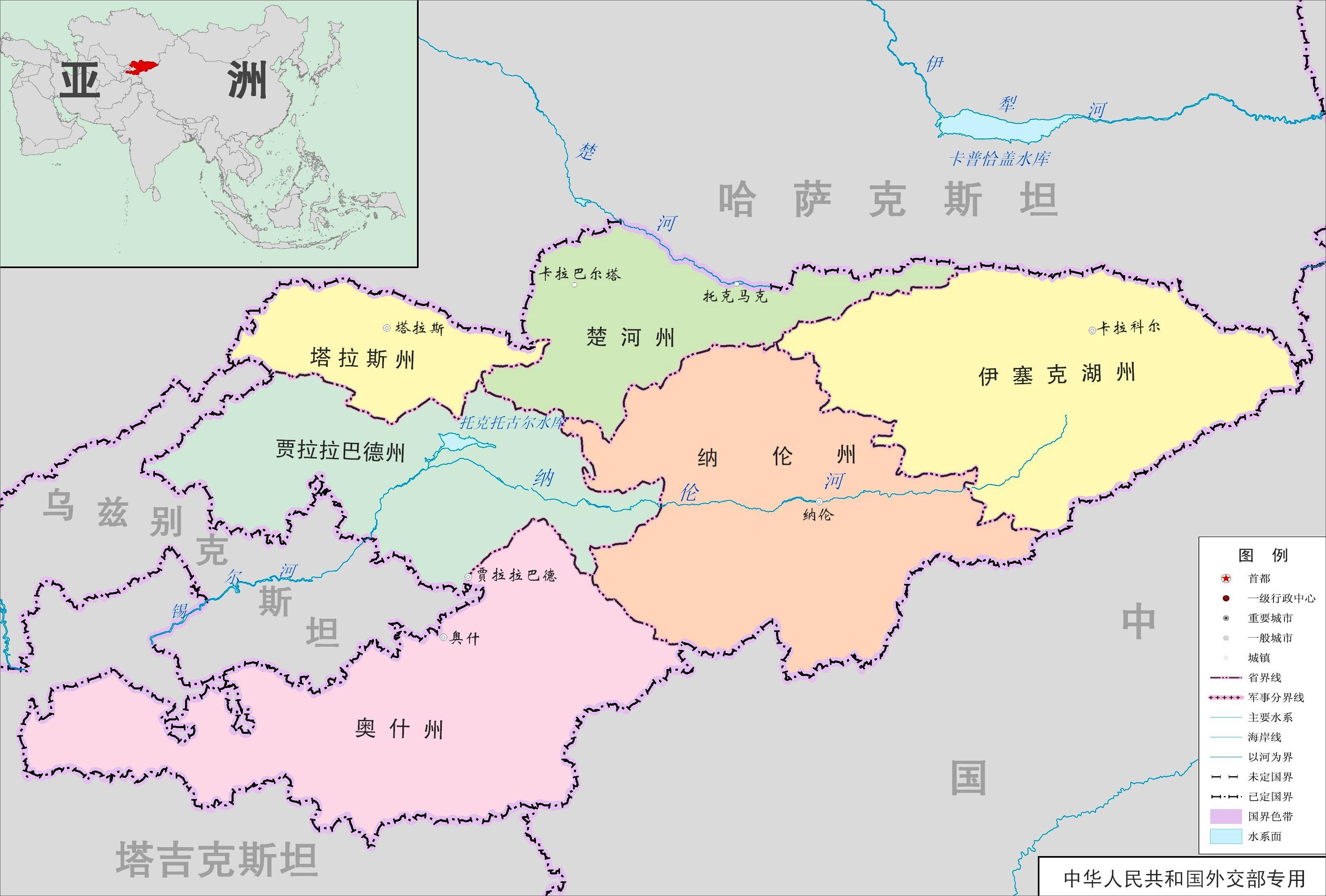 碎叶,吉尔吉斯领土都在唐朝版图上.-苏联解体出一国,李白的故乡