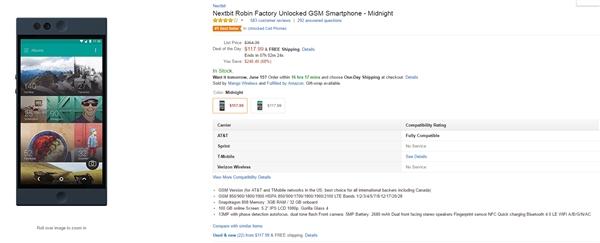 直降近2000!Nextbit Robin迎来史上最低价:800元