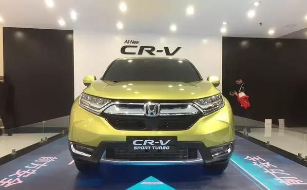 世界上最畅销的SUV本田CR-V新款今年7月正式上市
